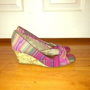 Shoes - Multicolored wedges